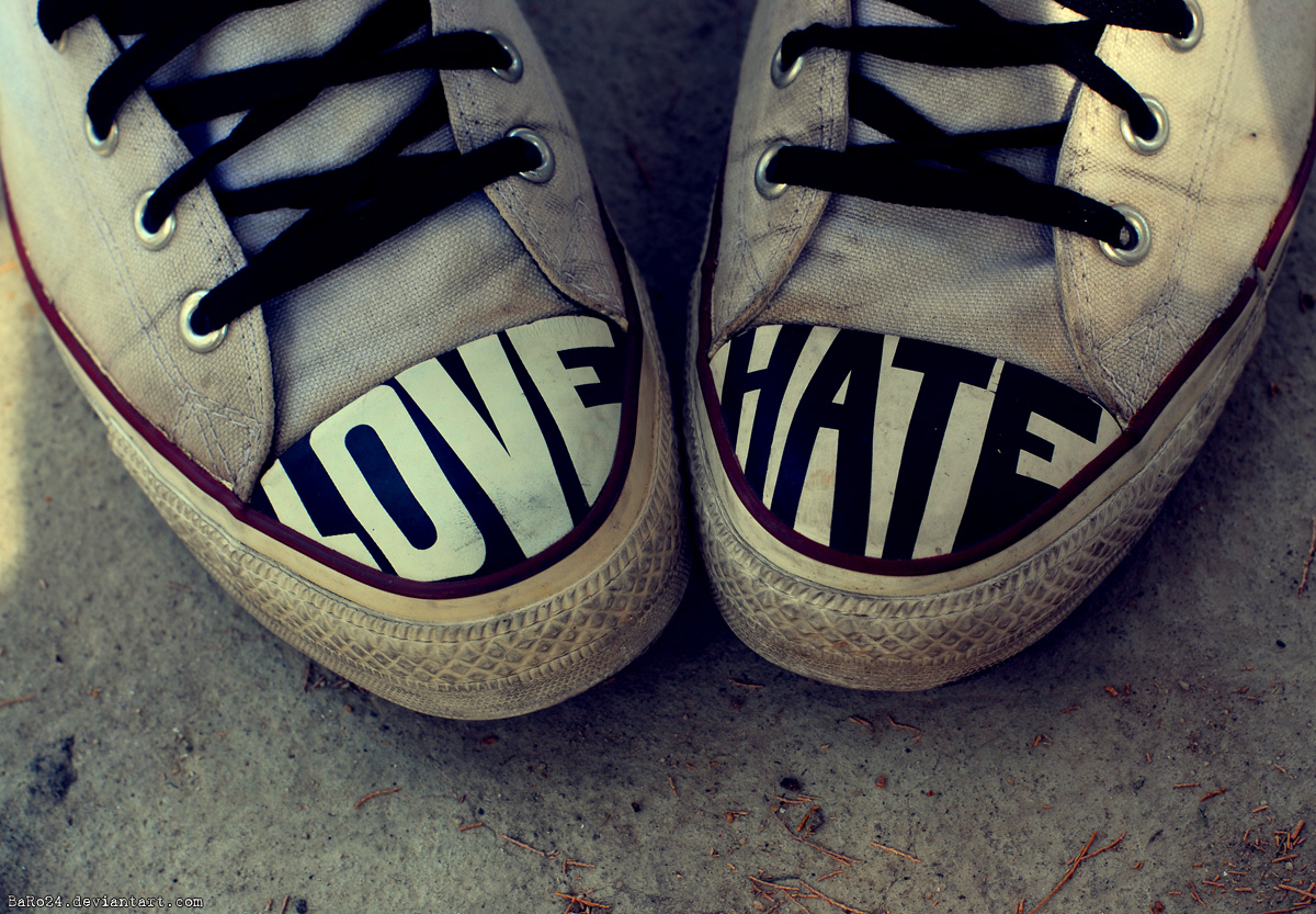 The Differences Between Love And Hate