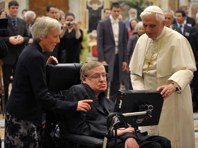 Stephen Hawking & Pope